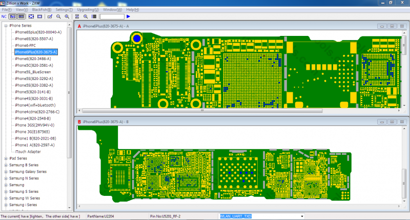 ZXW Tools main interface.