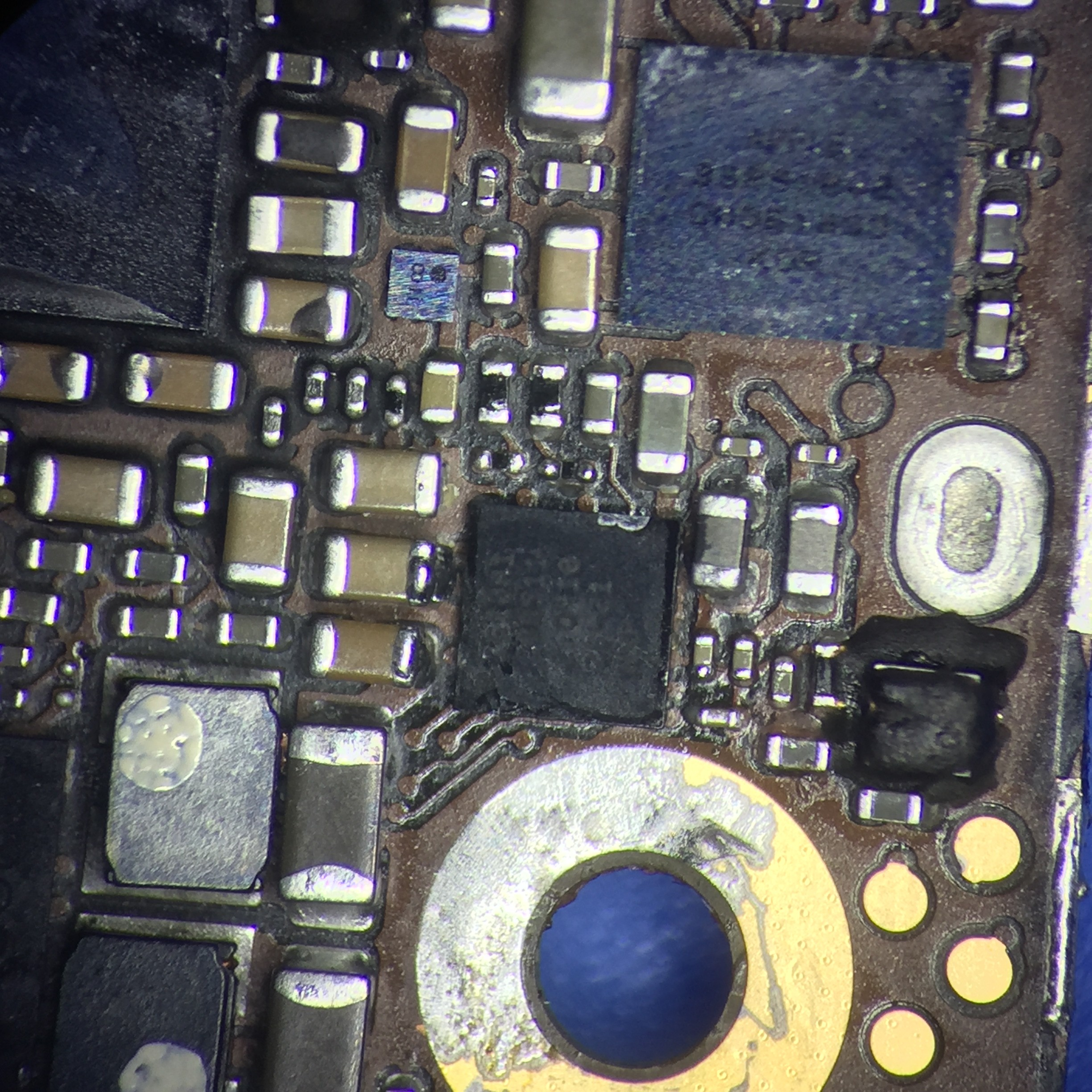 Microsoldering Iphone Logic Board Repair Data Recovery 5 Circuit Diagram Pictures Problem