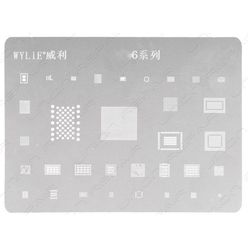 iphone 6 reball stencil