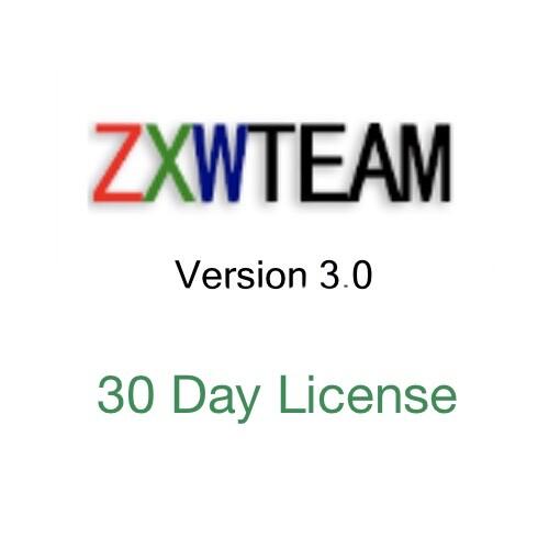 zxw 3.0 30-day activation license online activation