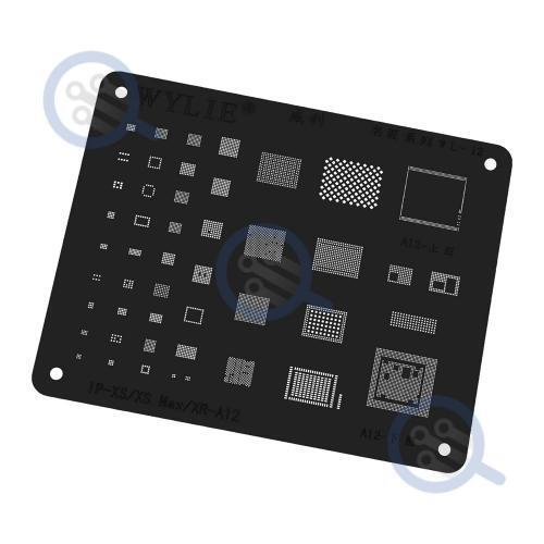 wylie-black-bga-reballing-stencil-for-iphone-xs-xs-max-xr